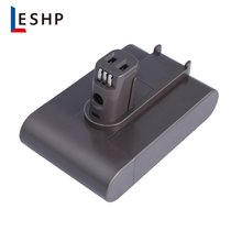 LESHP Plastic Rechargable Power Tool Lithium Ion Battery 22.2V 2000mahLi Alternative for Dyson DC31, DC35, DC44 цена и фото