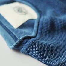 Red Tornado Indigo Kendo Knit Tee Shirts Vintage Men Short Sleeve T-Shirts Sashiko