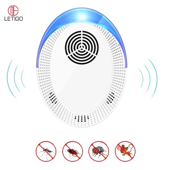 Pest Control Ultrasonic Pest Repeller EU/US Plug Electronic Mosquito Repellent Cockroach Mosquito Insect Killer Pest Repeller