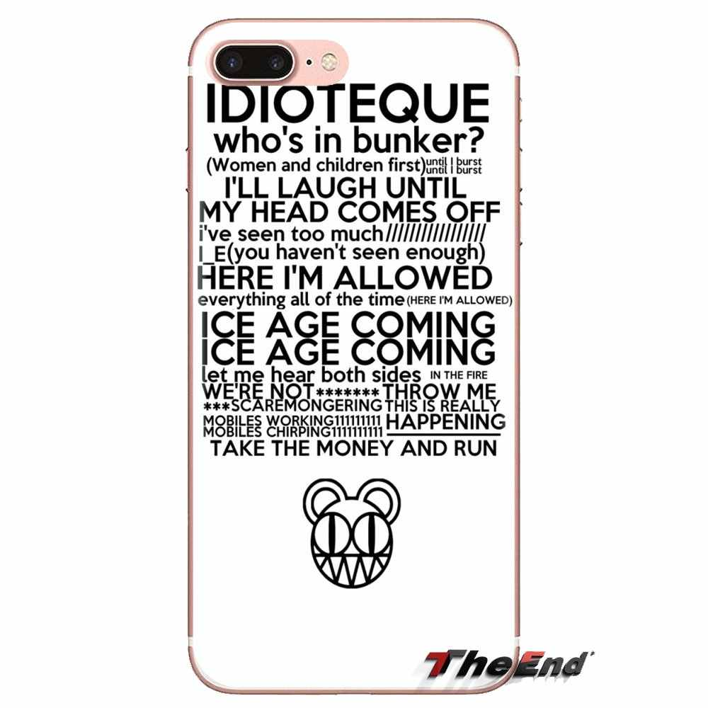 Radiohead Everything in Its Right Silicone Case For Xiaomi Mi3 Samsung A10 A30 A40 A50 A60 A70 Galaxy S2 Note 2 Grand Core Prime