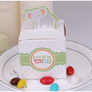 Image 5 - Staraise 10 個キャンディーバッグハッピー誕生日パーティーのギフトバッグラッピング用品結婚式の好意何もギフトバッグ動物のギフトボックス