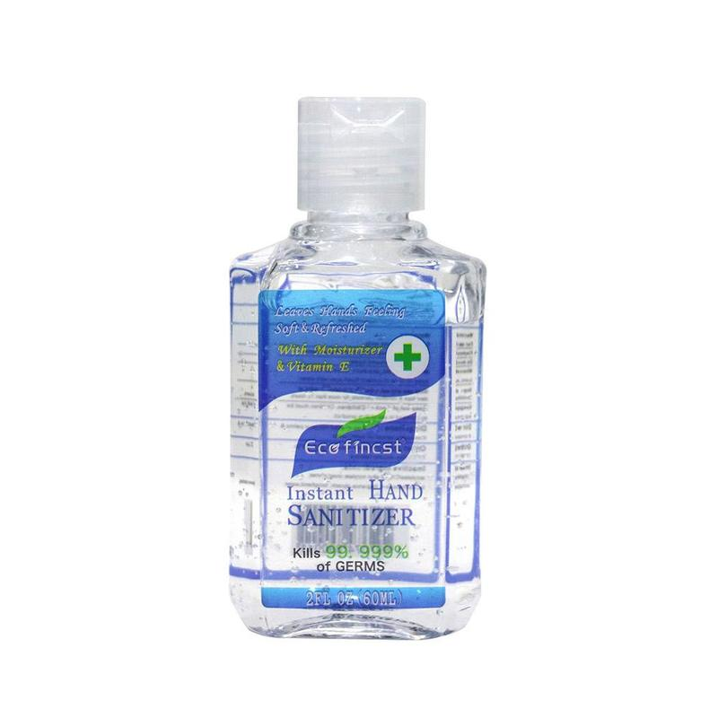 60ml Rinse Free Hand Sanitizer Alcohol Gel Hand Cleaning Care Disinfectant Antibacterial Hand Gel Kill 99.99% Of Germs