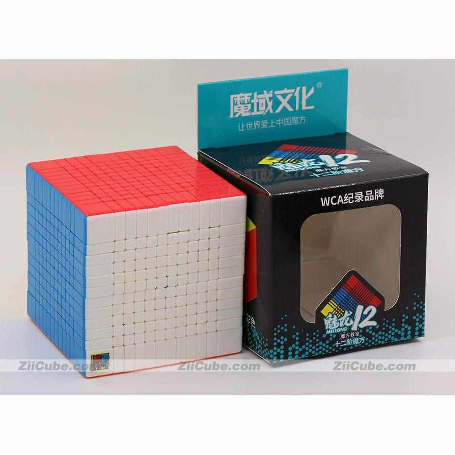 Magische kubus puzzel MoYu Cubing klaslokaal MeiLong 12x12x12 12x12 professionele hoge niveau cube educatief twist wijsheid speelgoed spel - 6