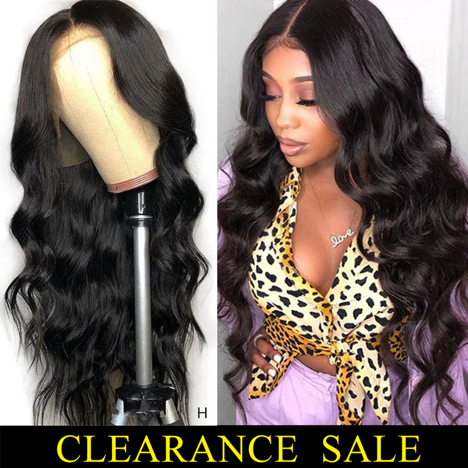 Peruvian Body Wave Wig Lace Front Human Hair Wigs For Women Pre Plucked Hairline With Baby Remy Hair 13*4 Lace Wigs 150% Density
