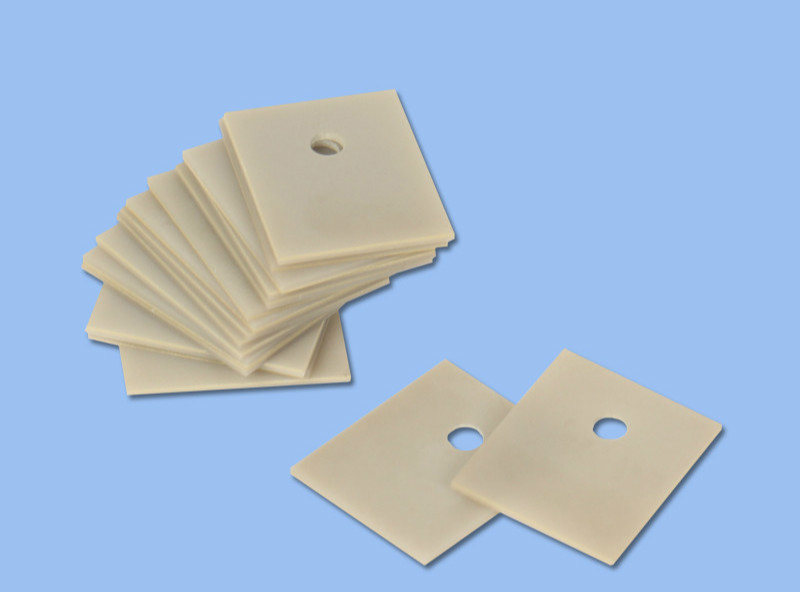 Aluminum Nitride Ceramic Substrate Thermal Insulation TO-220/247/264/3P/3