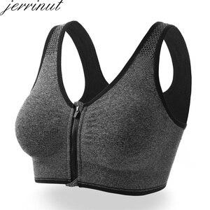 Image 5 - 3pcs לדחוף למעלה Bralette חזיות לנשים חלקה חזייה עם מרופד קדמי רוכסן ספורט חזייה Wirefree Bralette כושר חולצות