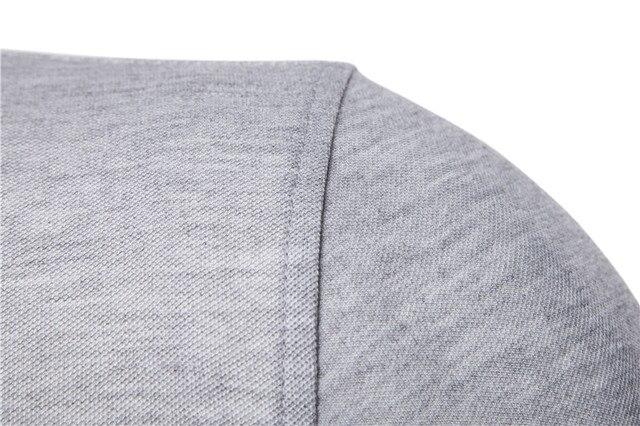 NEGIZBER New Man Polo Shirt Mens Casual Deer Embroidery Cotton Polo shirt Men Short Sleeve High Quantity polo men 3