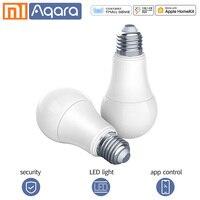 9w led Aqara Smart bulb Xiaomi smart lamp White Color LED lamp Light Work with xiaomi smart Home Kit for Mi Home mijia App 9W E27 2700K (1)