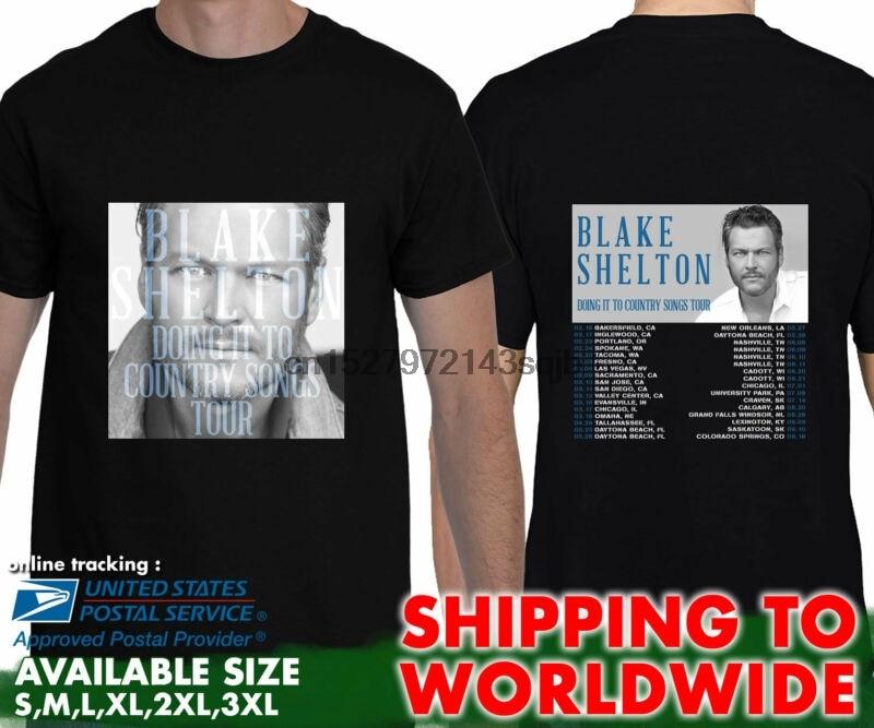 Blake Shelton Shirt Country Music Freaks Tour 2018 t shirt NEW Sizes S-6X