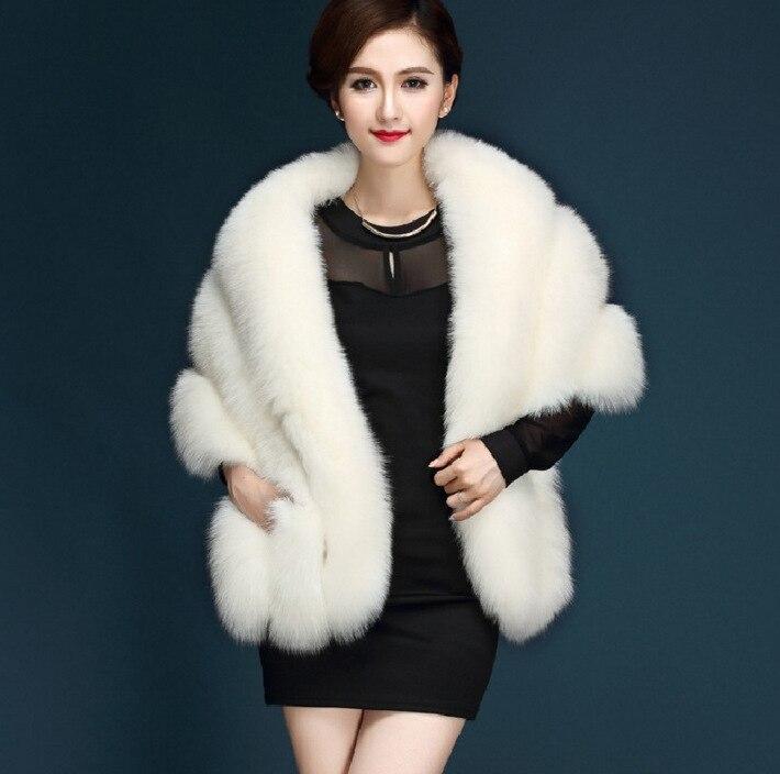 Winter Coat Women Fur Jacket Ladies Faux Fox Fur Coat Female Clothes 2019 Korean Thick Warm Luxury Fur Coats Hiver LW1568