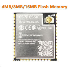 ESP32 WROOM 32U 4 mo 8 mo 16 mo mémoire Flash wi fi + BT + BLE ESP32 Module IPEX connecteur dantenne Espressif Original