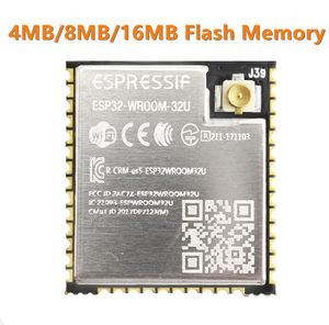 Image 1 - ESP32 WROOM 32U 4MB 8MB 16MB Flash bellek wi fi + BT + BLE ESP32 modülü IPEX anten konnektör Espressif orijinal