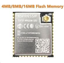 ESP32 WROOM 32U 4MB 8MB 16MB di Memoria Flash Wi Fi + BT + BLE ESP32 Modulo IPEX antenna connettore Espressif Originale