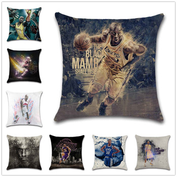Basketball Legend Cushion Cover