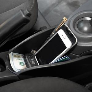 Image 2 - Caixa de armazenamento do centro do braço do carro para smart 453 fortwo forfour 2015 2019 recipiente luva organizador automático para mercedes acessórios