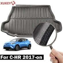 Für Toyota C HR CHR C HR 2017 2018 2019 2020 Boot Tablett Cargo Liner Hinten Stamm Boden Matte Teppich Gepäck fracht Tray Auto Zubehör