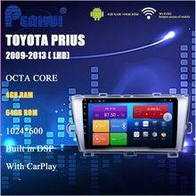 Автомобильный dvd для toyota prius ( 2009 2013) lhd Радио Мультимедиа