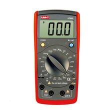 UNI-T Tester Digital Multimeter Profesional Resistance Inductance Capacitance Meters Testers LCR Meter Capacitors Ohmmeter Test измерительный прибор uni t ut612 uni t lcr 100khz usb