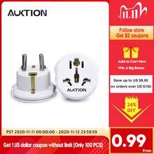 AUKTION 16A Universal EU (Europa) konverter Adapter 250V AC Reise Ladegerät Wand Power Steckdose Adapter Hohe Qualität Werkzeuge