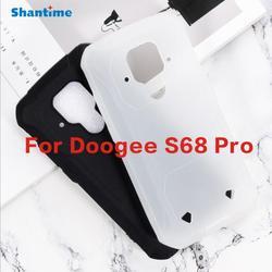 На Алиэкспресс купить чехол для смартфона doogee s68 pro,silicone mobile phone case, soft case, mobile phone protective cover, 1: 1 ratio non-slip, thin