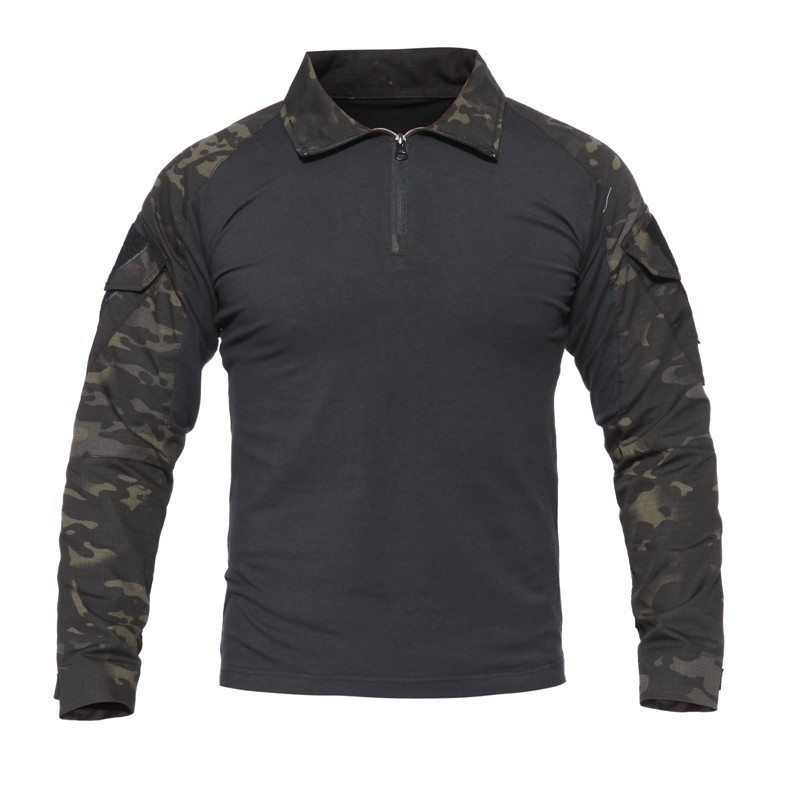 Hf01ab32e5aca443bae8f1361c1bc6572b - Men Outdoor Tactical Military Hiking T-Shirts Male Army Camouflage Long Sleeve Sports Shirt Breathable Hunting Fishing Clothes