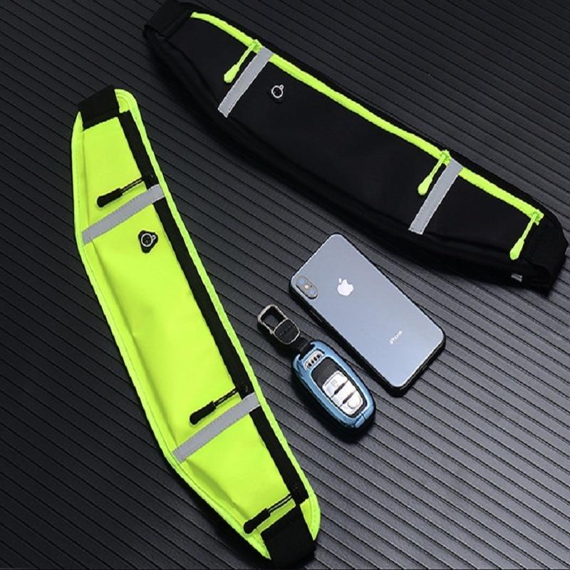 Waist Bags Women Men Fanny Arm Band Pack Waist Belt Bag Waist Packs Chest Phone Pouch For Cover Sport Bag -8