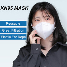 20PCS KN95 Face Mask Reusable Anti Dust Mask Particulate Respirator PM2.5 Personal Protective Mask Health Protection as N95