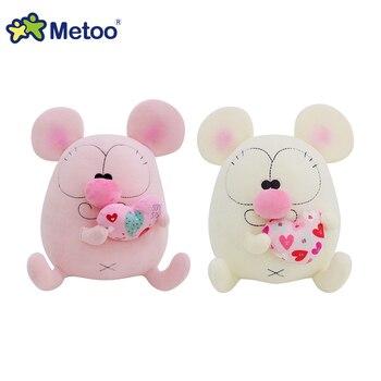 Мягкая плюшевая игрушка мультяшный мышонок Metoo 2