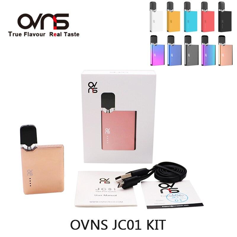 Clearance OVNS JC01 Pod Vape Kit 400mAh Battery With 0.7ml Pod Cartridge Vape Pen Electronic Cigarette Kit Vapor