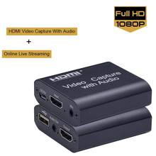 1080P 4K HDMI dispositif vidéo HDMI vers USB 2.0 carte vidéo dongle enregistrement en temps réel streaming transmission en boucle locale(China)