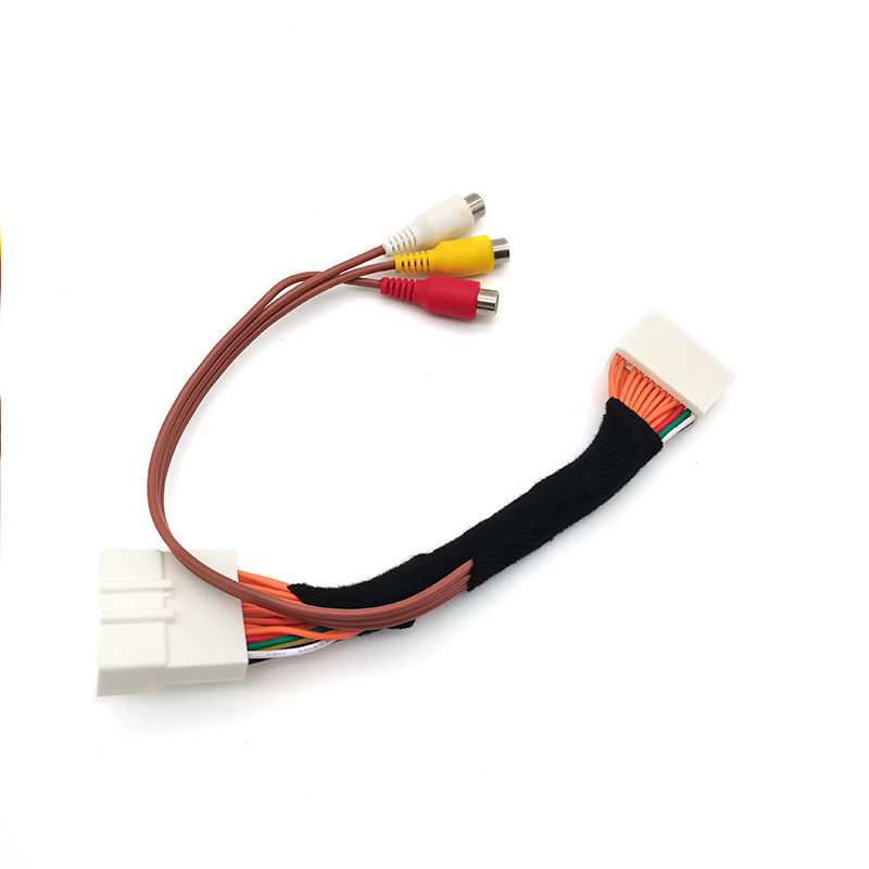 28 Pin Car AV Video Audio Cable For Toyota Lexus Tacoma Tundra Touch 2 Entune Monitors Head Units