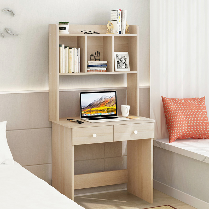 Computer Desktop Table Household Minimalist Modern Table Writing Desk Simplicity Desk Bookshelf Combination Desk Economical