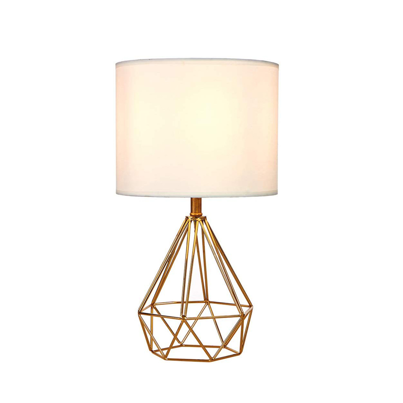 Modern Bedroom Bed Side Table Lamp With