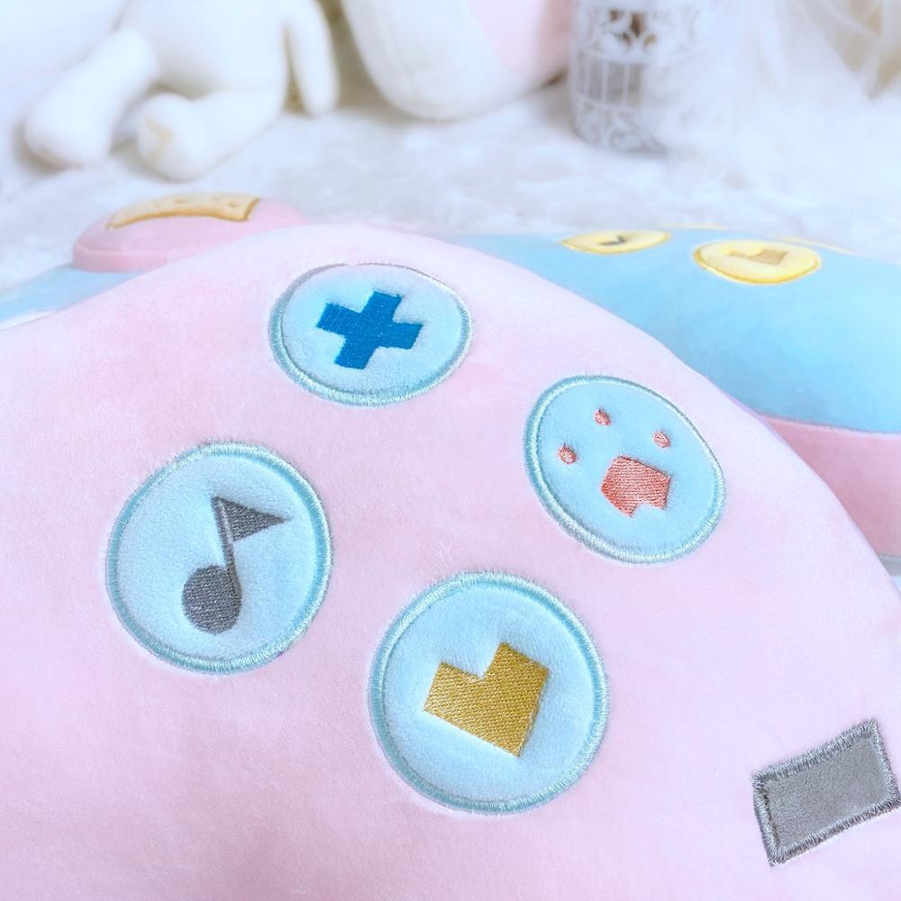 Kawaii Game Console Controller Pillow Plush 3