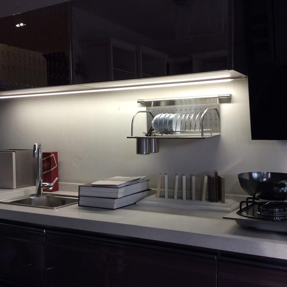 Zerouno 12cm 23cm 40cm Led Kitchen Light Motion Sensor Control Led Lighting Usb Rechargeable Battery Wardrobe Light
