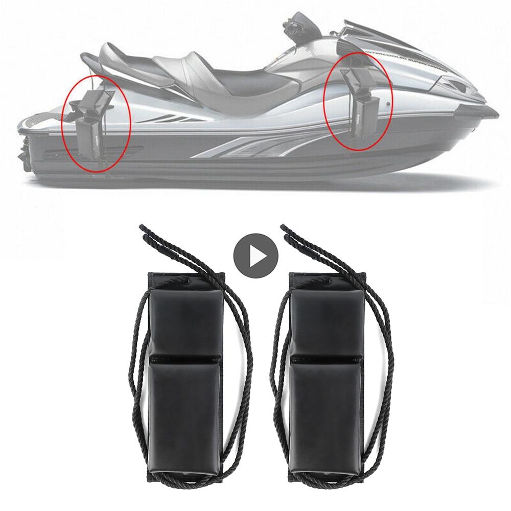 KEMiMOTO 2 pièces Protection de garde-boue de bateau universelle pare-chocs damarrage pour Jet Ski pour Sea Doo pour Yamaha motomarine PWC