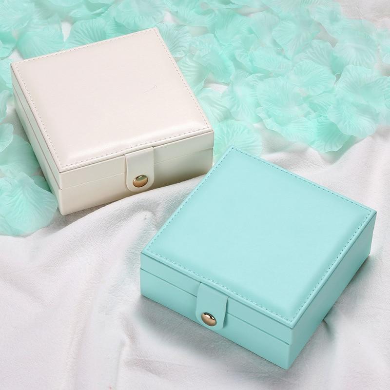 Купить с кэшбэком Earring display New Ring box jewelry display Packaging Jewelry organizer storage box Earings fashion jewelry box Display case