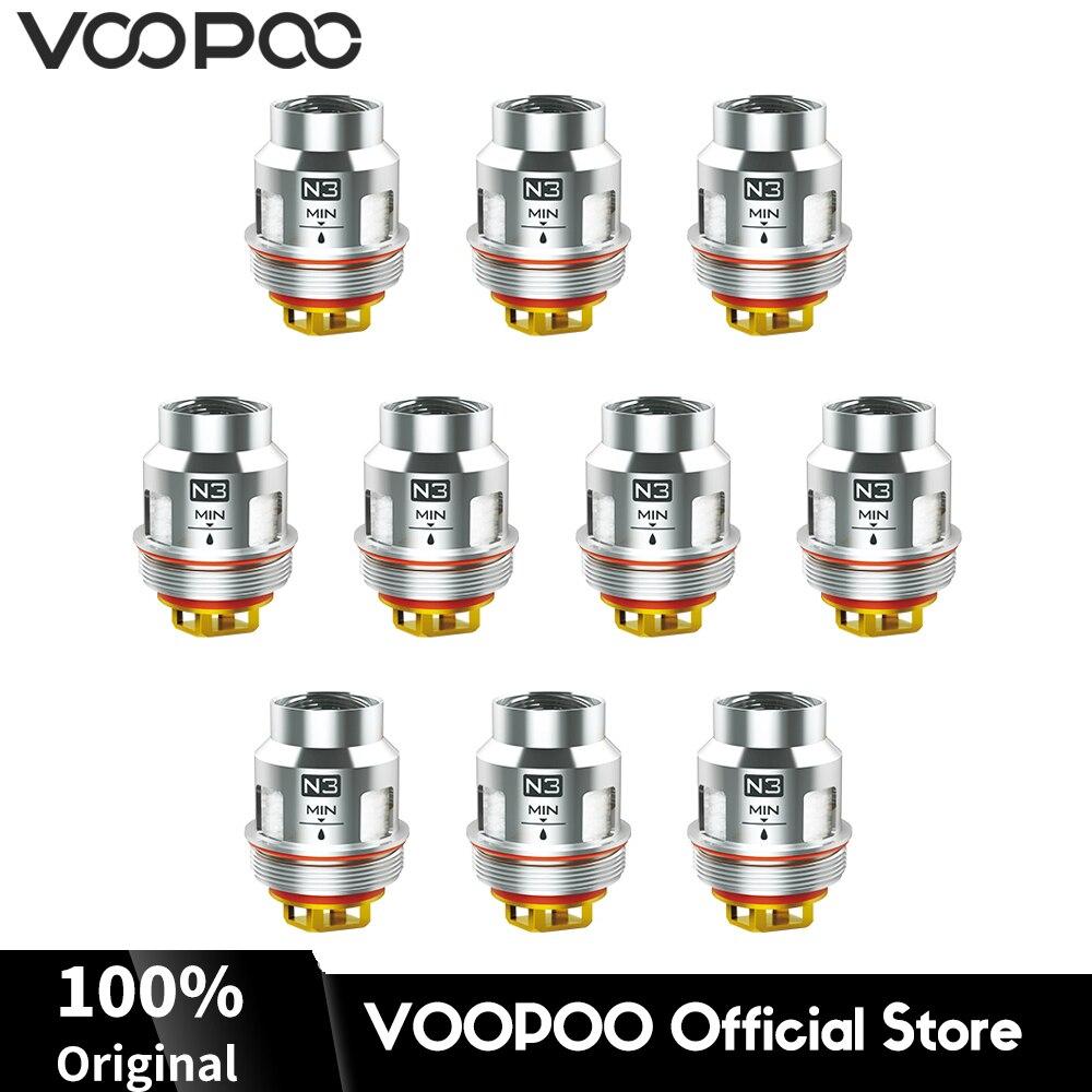 N3 Original VOOPOO UFORCE N3 Triple Mesh Coils Head 0.2ohm Resistance Atomizer Cores Electronic Cigarette Vaper Coils