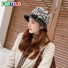 Fisherman Hat Brim Winter Fashion Women New And Wool Small Autumn Dome CARTELO All-Match