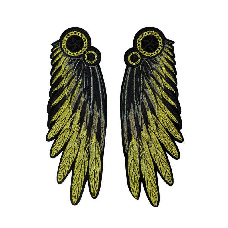 1 Pcs Neue Ankunft Exquisite Engel flügel Nähen Auf Patch T-Shirt Adhesive Stickerei Patch DIY Kleidung Zubehör Rucksack Patches