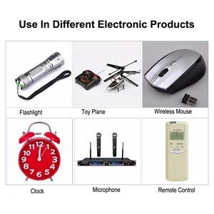 Image 5 - VOXLINK caricabatterie intelligente 6slot cavo ue per batterie ricaricabili AA/AAA ni cd per videocamera con microfono con telecomando