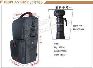 Image 5 - DSLR Camera Bag Handbag Telephoto Lens Pouch Case Waterproof Multi function Tamron 150 600 Sigma 150 600mm, Nikon 200 500mm
