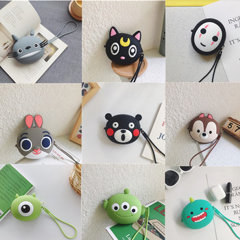 New Women Coin Purses Small Fresh Soft Silicone Coin Wallet Lady Fashion Cute Cartoon Anime Money Bag Change Purse Kawaii Bucket цена 2017