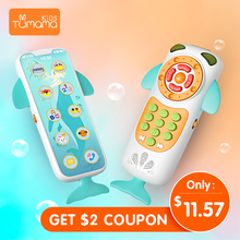 Baby Mobile Phone Toys For Baby Music Phone Early Educational Learning Telephone Kids Musical Toy Children стоимость