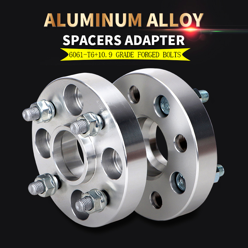 19mm thick Universal PCD GRAYSTON 2 Pair SP18 4 Hole  Wheel Spacers -