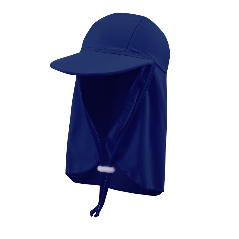 Sun-resistant Swimming Cap Outdoor Seaside Beach Play With Water Dayan Mao Shade Sun-resistant Windproof UV-Protection Children