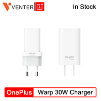 Original OnePlus Warp Charge 30 Power Adapter Warp 30W EU Charger EU US Charger Cable Quick Charge 30W For OnePlus 7 Pro