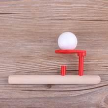 Вспененный шар плавающая игра дующий воздух игрушки деревянная