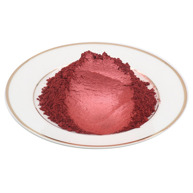 Pearl Powder Pigment Type 504 Wine Red Dye Colorant For Car Soap Nail Ceramic Arts Craft Acrylic Paint Mica Pearl Powder 10g/50g