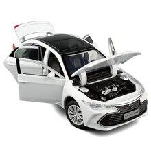 Modèle d'avalon à haute simulation, voiture jouet en alliage 1:32, 6 portes ouvertes, vente en gros